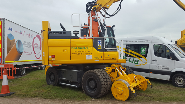 Pod-Trak's Dx270 at Rail Live 2016-1