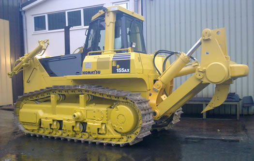 Komatsu Dx155ax dozers construction plant
