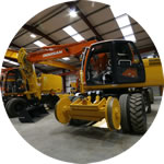 Philmor Model Ultimate 220. Fitted with standard bucket for civil/non-rail duties.